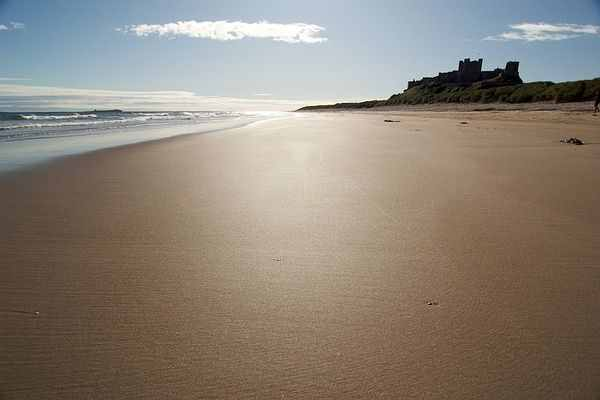 Bamburgh Castle Beach